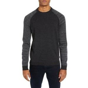 Ted Baker Cornfed Sweater Charcoal Grey